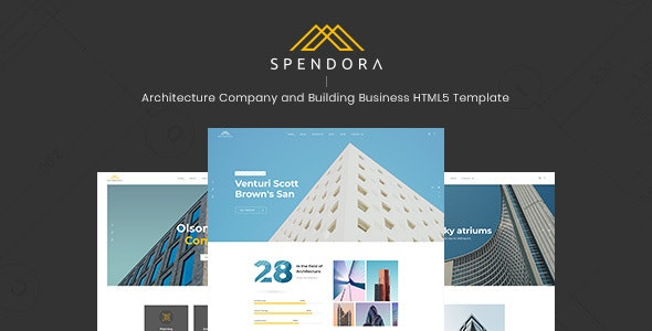 Spendora - Architecture and Building Business HTML Template - Business Corporate