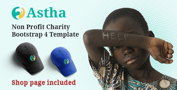 Astha - Charity HTML5 Template - Charity Nonprofit