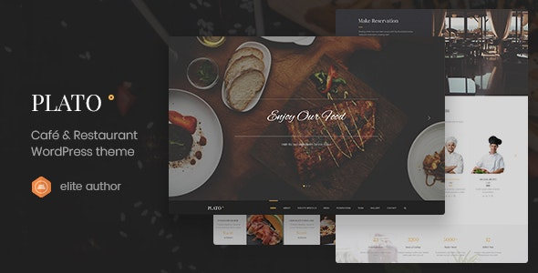 Plato | Cafe & Restaurant WordPress Theme - Food Retail