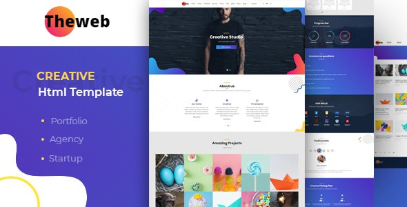 Thony - Creative Html Template - Site Templates