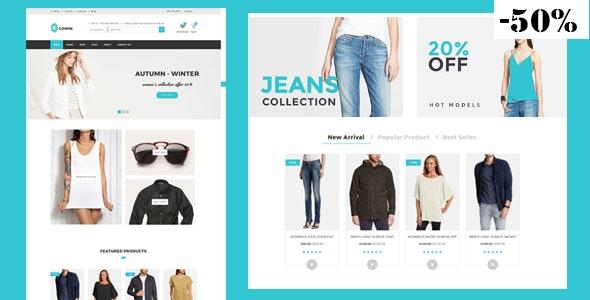 Ecomin - Responsive Multipurpose Ecommerce HTML5 Template - Shopping Retail