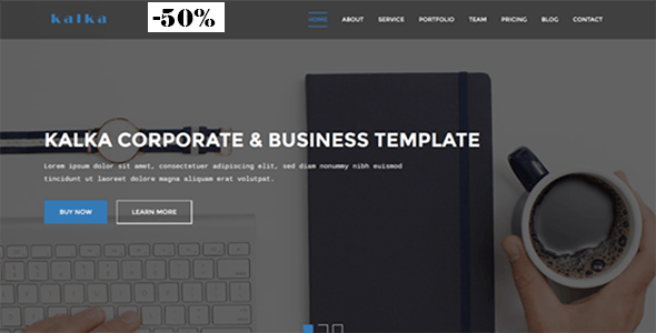 kalka - Responsive Business & Corporate Template - Business Corporate