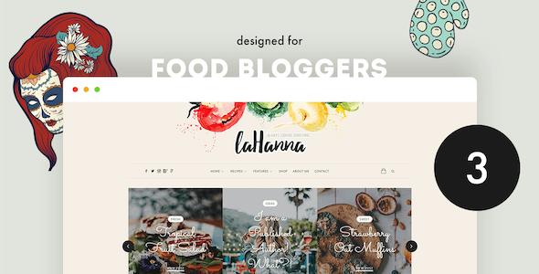 lahanna yemek blog wordpress teması