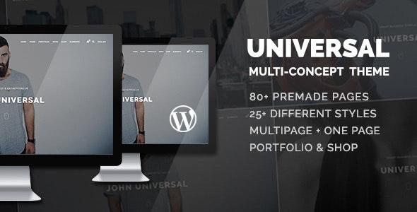 Universal - Smart Multi-Purpose WordPress Theme - Business Corporate