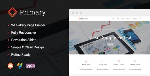 Primary - Business WordPress Theme