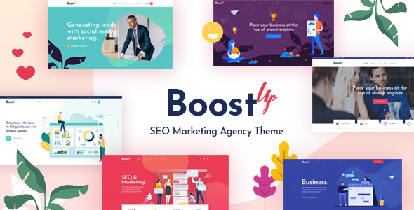 BoostUp - SEO Marketing Agency Theme - Marketing Corporate