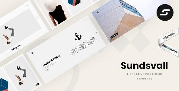 Sundsvall - Ajax Based Portfolio Template - Creative Site Templates
