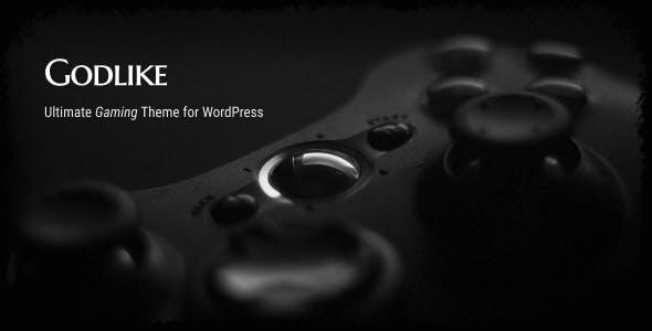 Godlike - Game Theme for WordPress