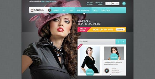 R.Gen - OpenCart Modern Store Design PSD
