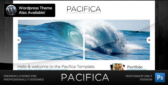 Pacifica Theme - The PSD Version - Creative Photoshop