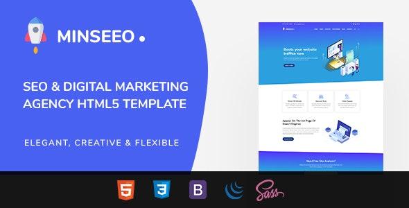 Minseeo - SEO Marketing HTML Template - Marketing Corporate