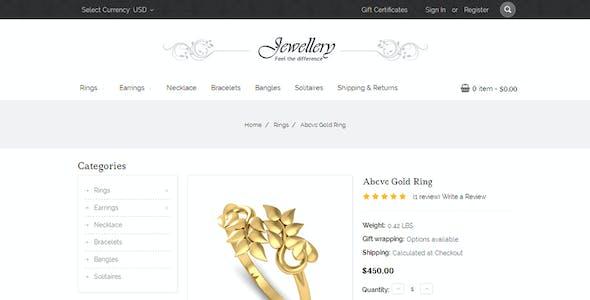 Jewellery - Multipurpose Stencil BigCommerce Theme