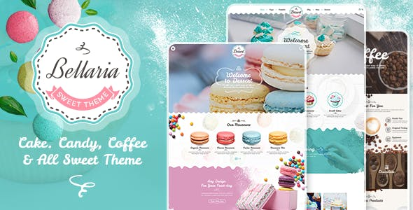 20+ Bakery WordPress Themes & Templates 2019 [ Download Now ]
