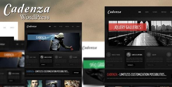 Cadenza - Modern WordPress Theme - Creative WordPress