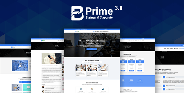 Bprime - Business and Corporate HTML Template - Creative Site Templates