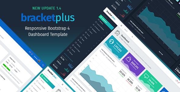 Bracket Plus Responsive Bootstrap 4 Admin Dashboard Template - Admin Templates Site Templates