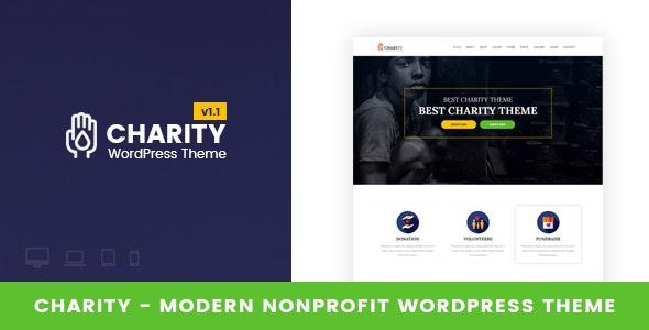 Charity - Nonprofit WordPress Theme - Charity Nonprofit