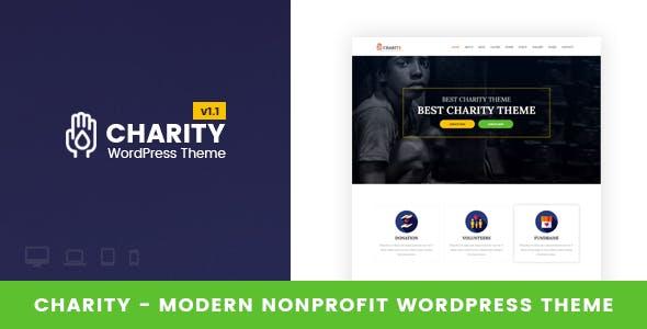 Charity - Nonprofit WordPress Theme