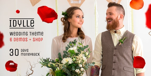 Idylle - Creative Wedding Theme - Wedding WordPress