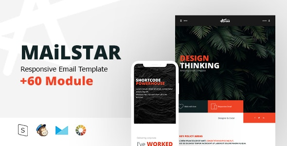 MailStar - Multipurpose Responsive E - Email Templates Marketing