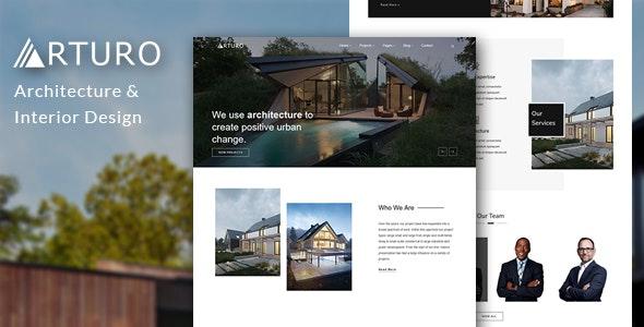 Arturo - Architecture & Interior Bootstrap Template - Site Templates