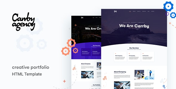 Carrby - Agency HTML Template - Creative Site Templates