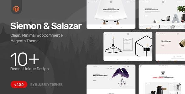 Siemon & Salazar - Clean, Minimal Magento 2 Theme