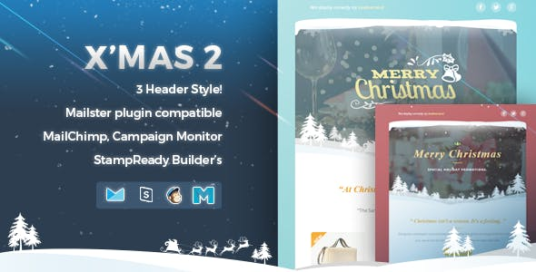 X'mas 2 | Responsive Email Template
