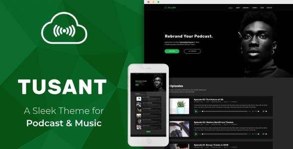 14+ Best Podcast WordPress Themes & Templates 2019