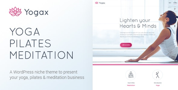 Yoga X - Yoga, Pilates & Meditation WordPress Theme - Health & Beauty Retail