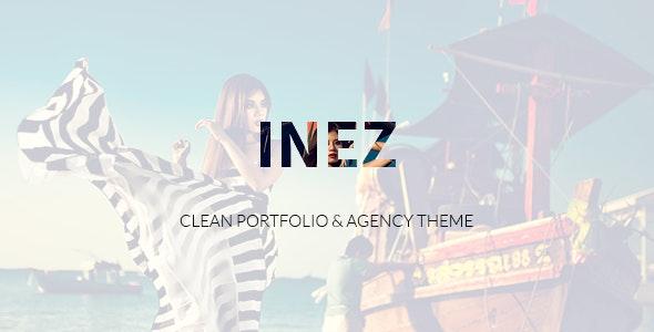 Inez - Clean Portfolio & Agency Theme - Portfolio Creative