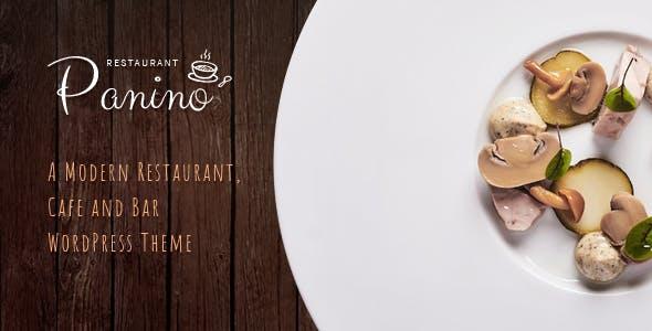 Panino - A Modern Restaurant and Cafe WordPress Theme