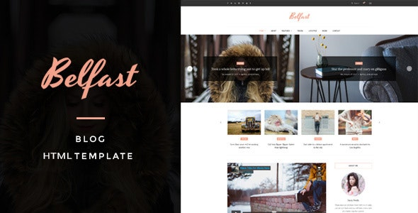 Belfast - Blog HTML Template - Miscellaneous Specialty Pages