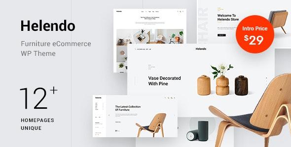 Helendo - Furniture eCommerce WordPress Theme - WooCommerce eCommerce