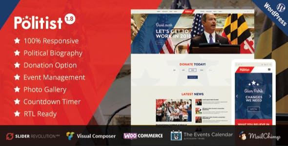 Political WordPress Theme | Political Candidate