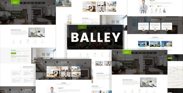 Balley | Real Estate Single Property HTML5 Template - Business Corporate