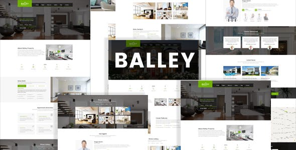 Balley | Real Estate Single Property HTML5 Template