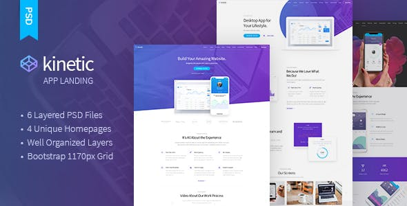 IOS App PSD Files and Photoshop Templates from ThemeForest