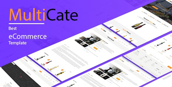 MultiCate Minimal Online Store Template