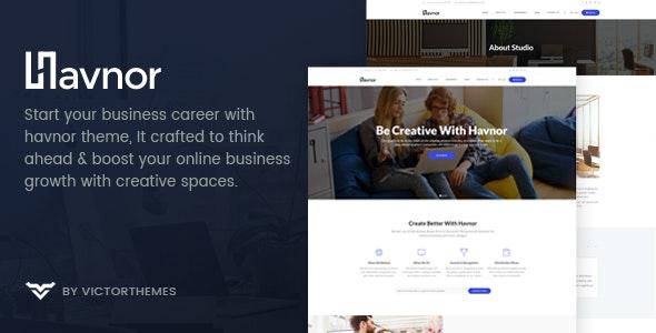 Havnor - Corporate Responsive Multi-Purpose WordPress Theme - Business Corporate