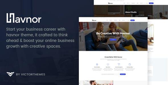 Havnor - Corporate Responsive Multi-Purpose WordPress Theme