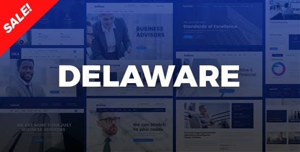 Delaware - Corporate Company, Consulting HTML Template