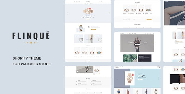 Ap Flinque Shopify Theme for Hand Watch   Accessories