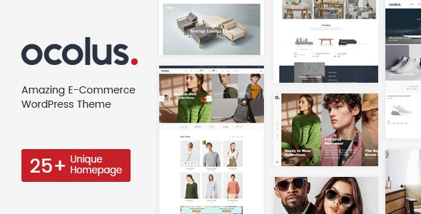 Ocolus - Fashion & Marketplace Multipurposes WooCommerce Theme - WooCommerce eCommerce