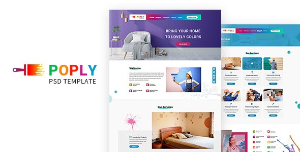 Poply | Painting PSD - Miscellaneous Photoshop