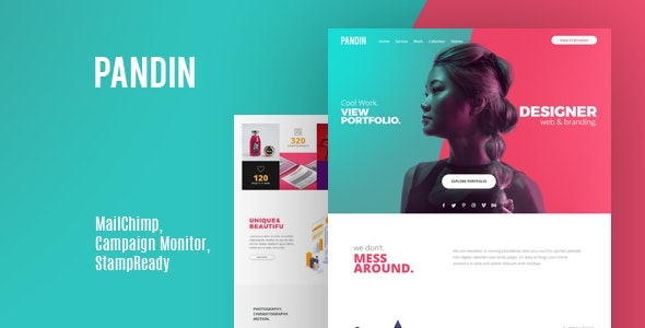 Pandin | Email Newsletter - Email Templates Marketing