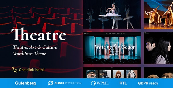 Theater v1.2.0 – Concert & Art Event Entertainment Theme