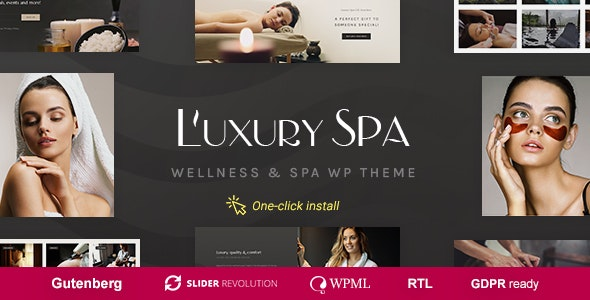 Luxury Spa - Beauty & Wellness Theme - Health & Beauty Retail