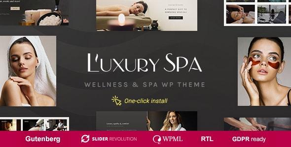 Luxury Spa - Beauty & Wellness Theme - Health & Beauty Retail