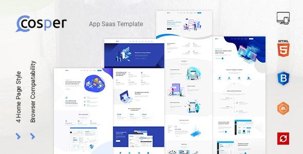 Cosper - Saas Landing HTML Template - Creative Site Templates